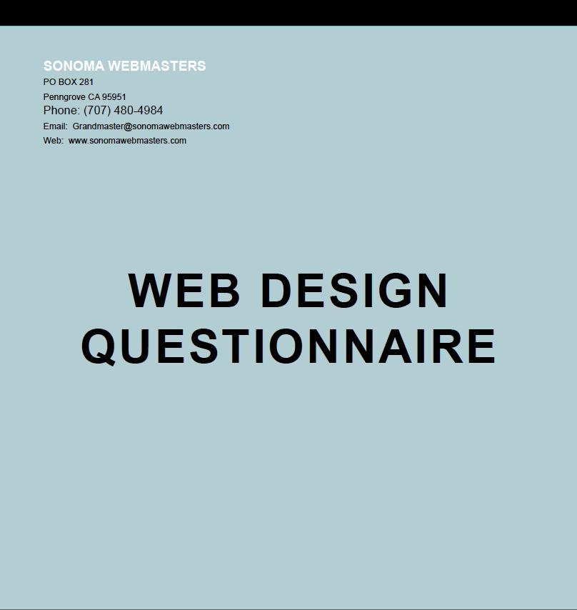New Client Questionnaire